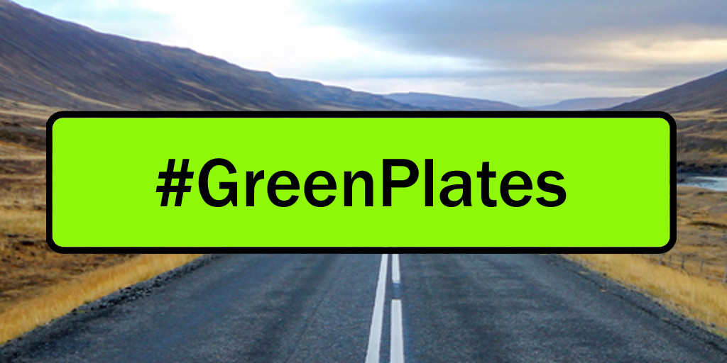 We need green plates