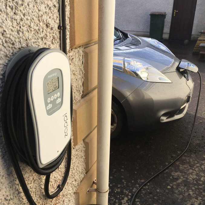 zappi home charge point