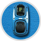 Rolec blue wallpod