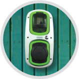 Rolec green and white wallpod